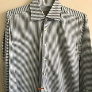 Canali Men's Long Sleeve Size Small